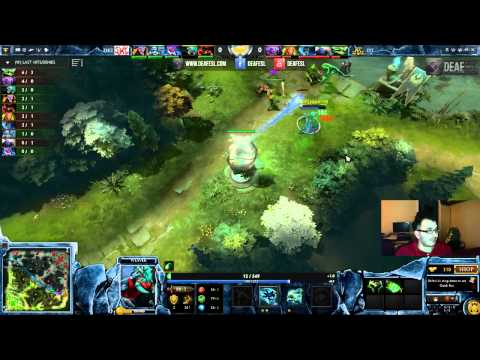 Dota2 League: DT (Ukraine) x DKT (Brazil) - Match 1