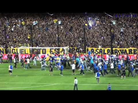 Boca campeon Ap11 / La vuelta olimpica