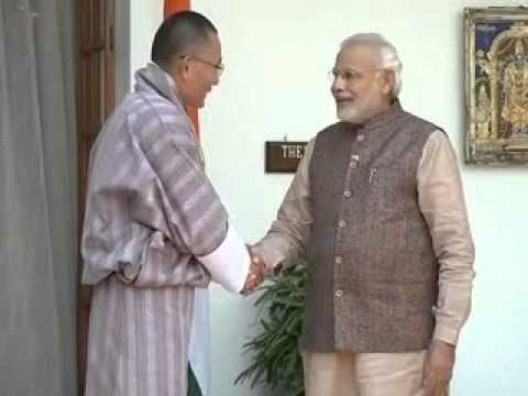 PM Modi greets Bhutan PM Tshering Tobgay