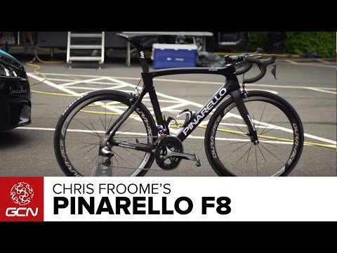 Chris Froome's Pinarello F8 | Tour De France 2014