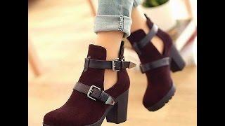 Tendencia en botas y botines para otoño 2015