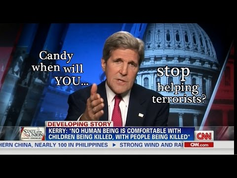 John Kerry tells Candy Crowley shes aiding Terrorists' Publicity Effort!!!