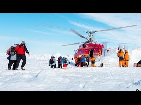 DRAMATIC ANTARCTIC RESCUE COMPLETED - BBC NEWS