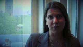Jo Swinson says 'Thank You' to Tearfund