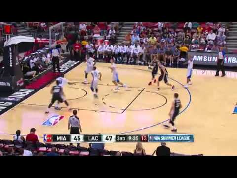 July 14, 2014 - Heat.com - Miami Heat Summer League Game 07 Vs Los Angeles Clippers - Loss (02-05)