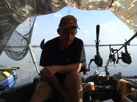 Lov kaprov z člna