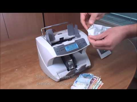 PRO 86 MIX EURO: Banknote Counter by Novatron.gr