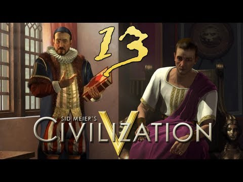 13. Civilization V - Gods and Kings with GetDaved (The Netherlands and Rome)