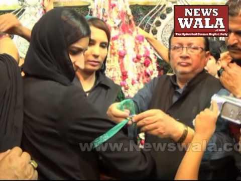 Miss South Asia Ruchika Sharma visited Bibi Ka Alawa during Moharram 2014