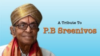 A tribute to PB Sreenivos