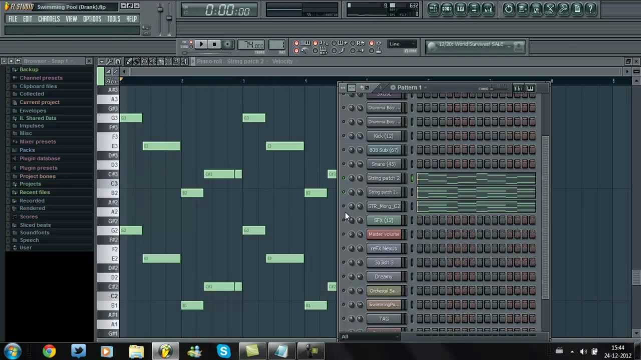 Kendrick lamar swimming pools fl studio remake youtube - Swimming pools drank extended version ...