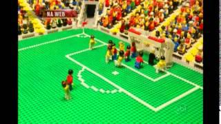 Veja o vídeo de uma montagem de lego em que retrata os principais lances entre Brasil e Colômbia.