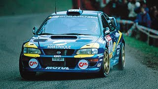 Vid�o Subaru Impreza WRC99 tarmac action - with pure engine sounds par amjayes (10017 vues)