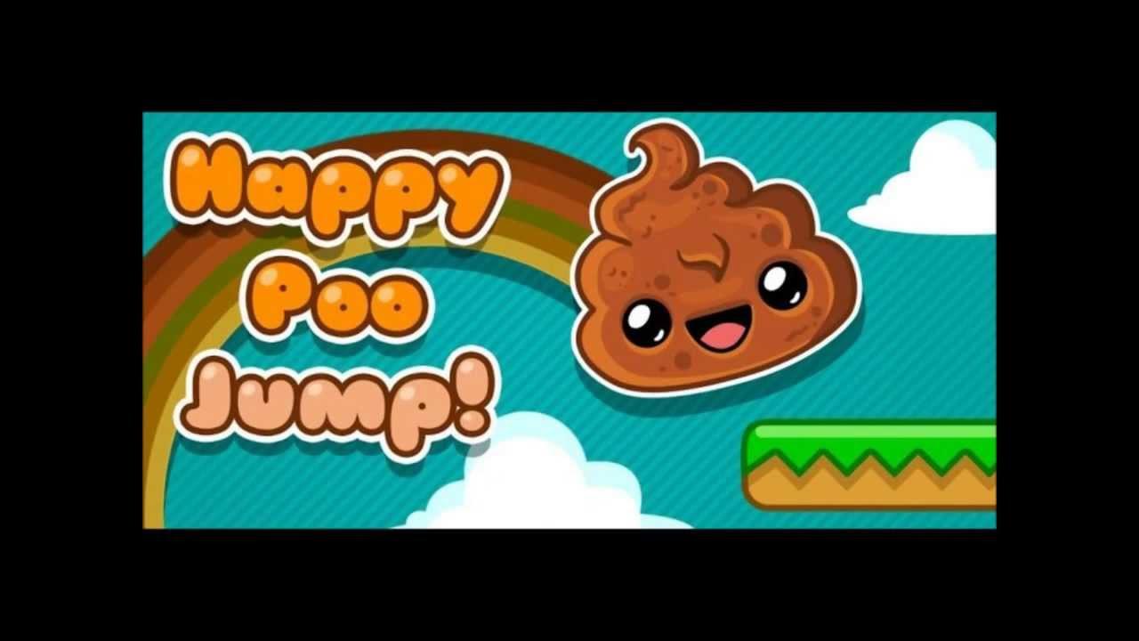 Happy Poo Jump -- игра какашка на андроид