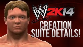 WWE 2K14 Creation Suite Ft. Create A Title, 100 Caw