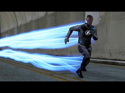 FLASH ZOOM SUPERHERO MOD! (GTA 5 Mods Funny Moments)