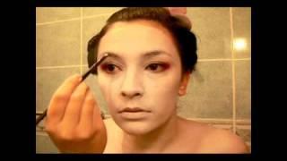 Halloween Make Up Tutorial: Geisha/Maiko