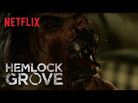 "Hemlock Grove ""The Monster is Within"" Transformation - Netflix (HD), ""You wouldn't notice it if a bus hit you."" Peter Rumancek (Landon Liboiron) is no ordinary dude, and you might not want to be around him during the full moon...123"