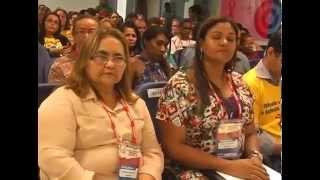 Abertura do 14º Congresso Estadual dos Trabalhadores em Educação -