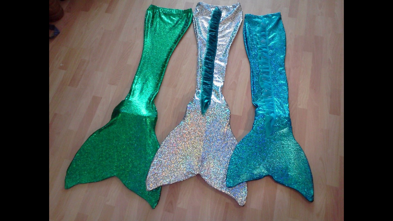 how to make a realistic mermaid tail to swim in