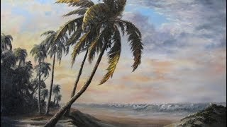 Paint With Kevin Hill Sunlit Palm