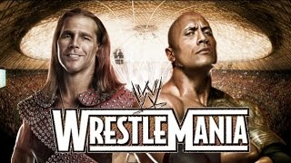 The Rock vs Shawn Michaels Wrestlemania 31 Promo HD