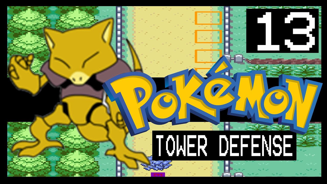 POKEMON TOWER DEFENSE WALKTHROUGH - ROUTE 05 - YouTube