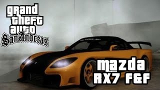 GTA SAN ANDREAS MODS: Mazda RX7 Veilside (Fast And Furious