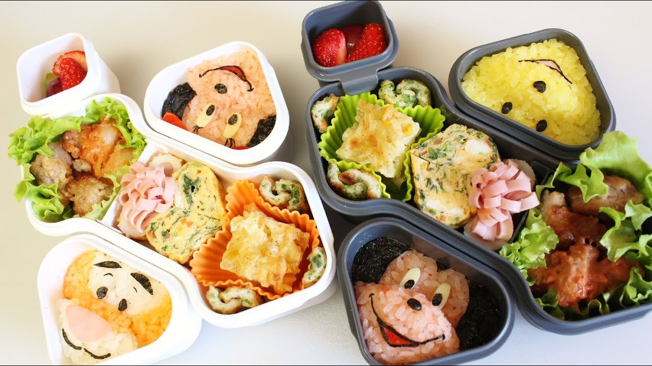 oxo bento box disney lunch box youtube. Black Bedroom Furniture Sets. Home Design Ideas