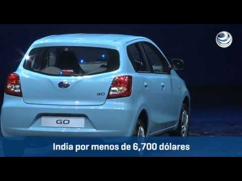 Nissan revive Datsun en India y quiere incursionar en Brasil