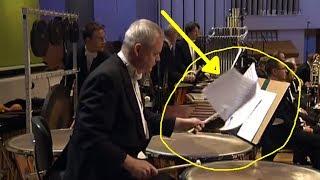 Accidentes en conciertos de música clásica