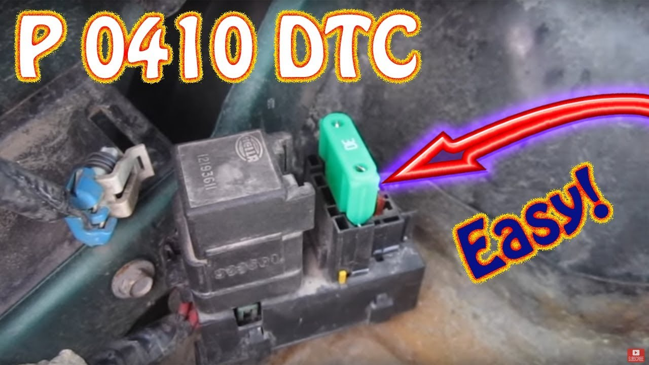 rx8 fuse box diagram check engine light code p0410 secondary air injection  check engine light code p0410 secondary air injection