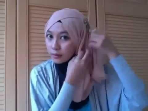 Hijab Tutorial Paris Segi Empat # Modern # Turban