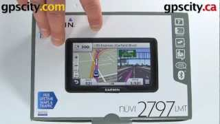 Garmin Nuvi 2797LMT: In The Box In Detail With GPS City