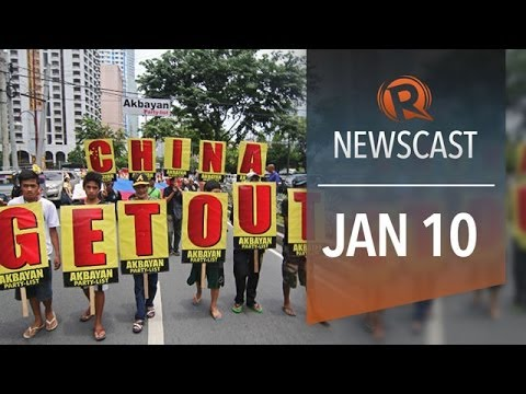 Rappler Newscast: PH vs China, bunkhouses, Thailand unrest