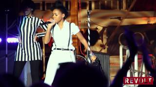 Janelle Monáe Talks Staying Balanced & Past Heros & Gets Singing Telegram From Prince