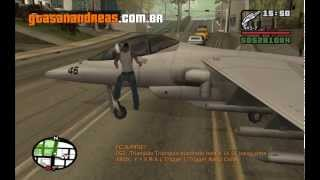 Código Do Avião De Guerra Hydra Do GTA San Andreas