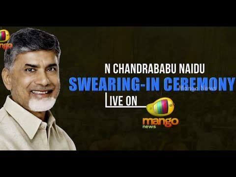 N Chandrababu Naidu swearing-in ceremony LIVE on Mango News