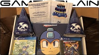 Mega Man 30th Anniversary Hype Package UNBOXING