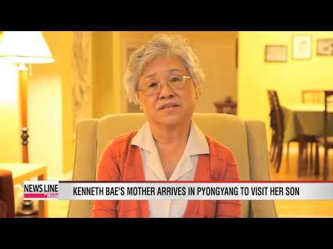 Kenneth Bae's mother arrives in Pyongyang to visit her son