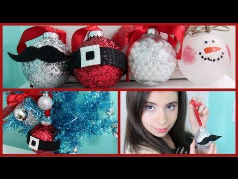 How to make DIY Christmas Ornaments! - Hogyan csinálj karácsonyi díszeket!