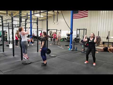 CrossFit Open 19.5 Britt & Britt