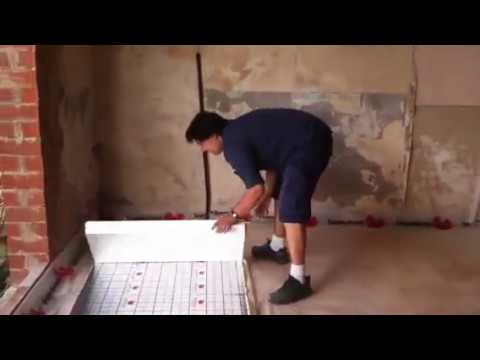 Colocaci n de panel aislante ac stico sdcubepack de - Colocacion suelo radiante ...