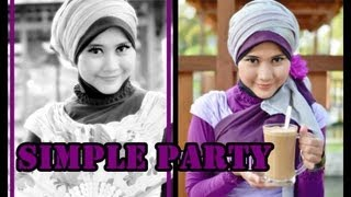 Tutorial Hijab Pesta Wisuda Tutorial Hijab Modern Paris