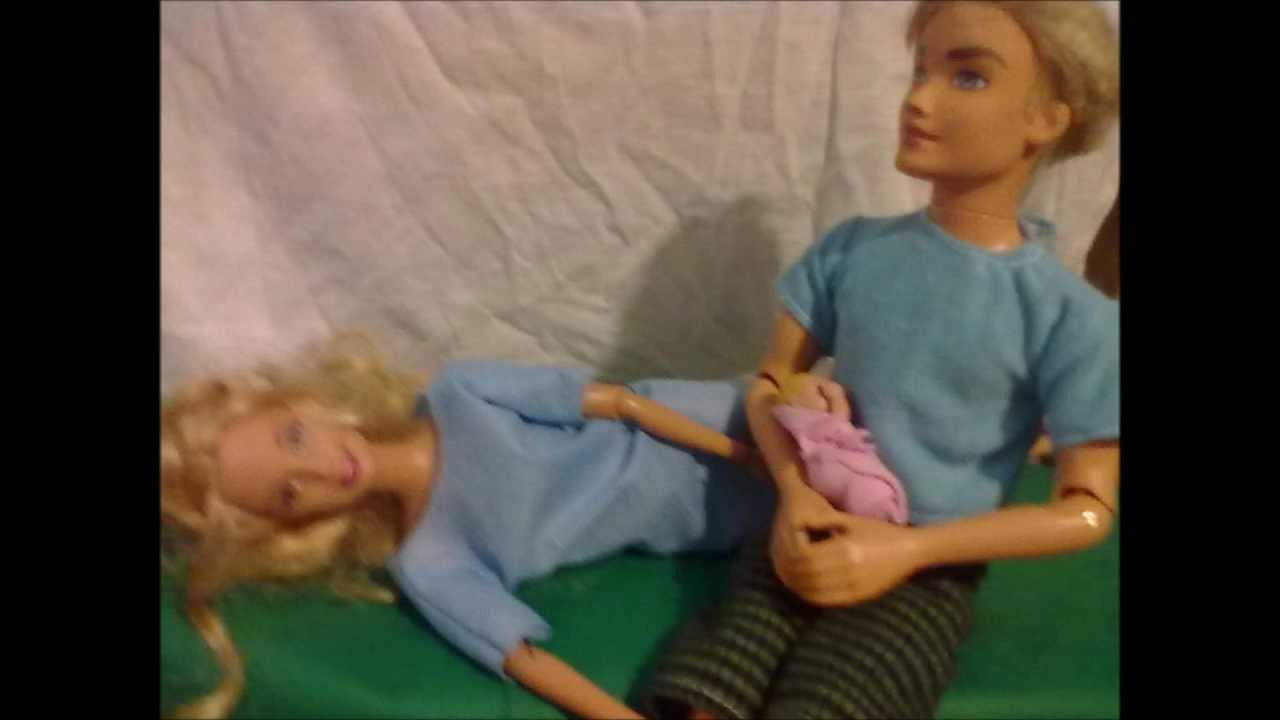 Barbie baby Born!!!! - YouTube