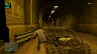GTA 5 Mount Chiliad Tunnel
