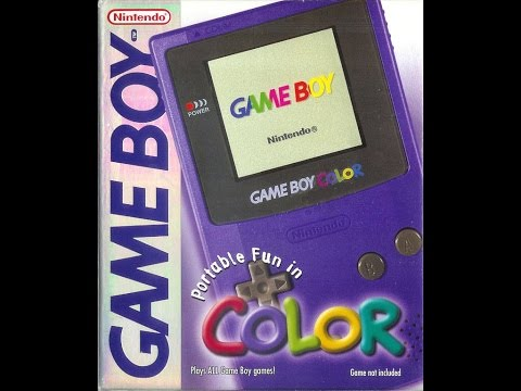 Gaming Paraphilia: Game Boy Color Selection Options Demonstration