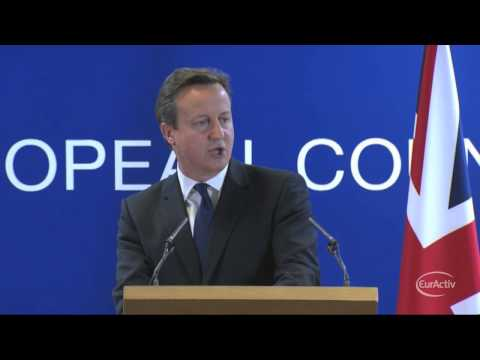Cameron on Juncker's nomination: Today was a bad day for Europe