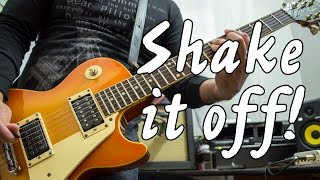 Taylor Swift Shake It Off Electric Guitar Cover