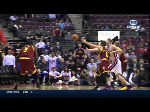 Cleveland - Detroit: 97-96 | Cavs 10-0 final minutes streak including buzzerbeater | 26 Mar 2014